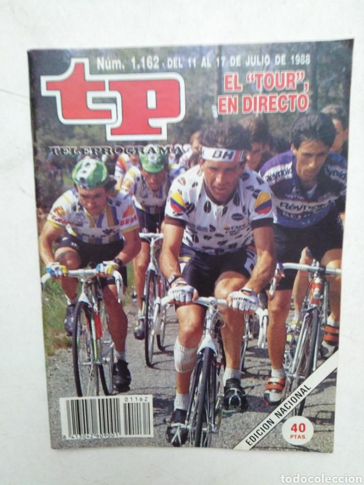 Coleccionismo de Revista Teleprograma: Lote de 10 revistas TELEPROGRAMA ( TP ) años 1988 ,1989 ,1990, 1991, 1992 y 1995 - Foto 3 - 284276113