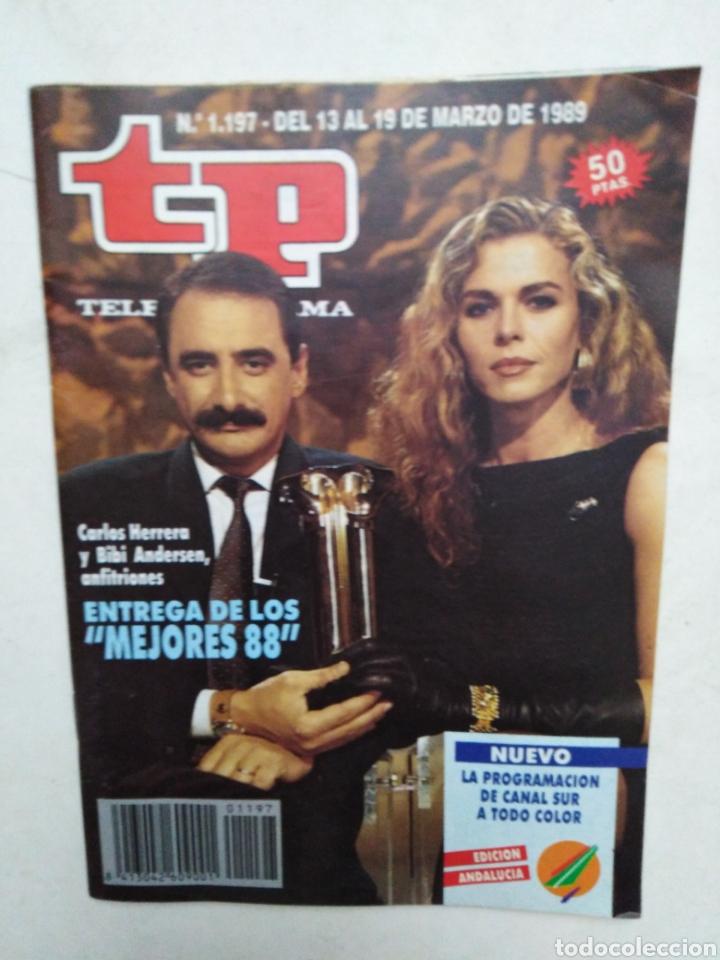 Coleccionismo de Revista Teleprograma: Lote de 10 revistas TELEPROGRAMA ( TP ) años 1988 ,1989 ,1990, 1991, 1992 y 1995 - Foto 5 - 284276113