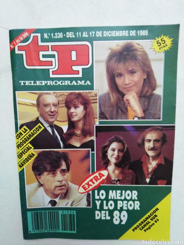 Coleccionismo de Revista Teleprograma: Lote de 10 revistas TELEPROGRAMA ( TP ) años 1988 ,1989 ,1990, 1991, 1992 y 1995 - Foto 6 - 284276113