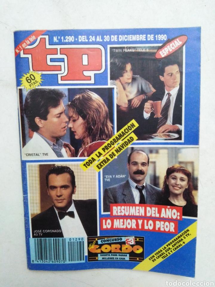 Coleccionismo de Revista Teleprograma: Lote de 10 revistas TELEPROGRAMA ( TP ) años 1988 ,1989 ,1990, 1991, 1992 y 1995 - Foto 7 - 284276113