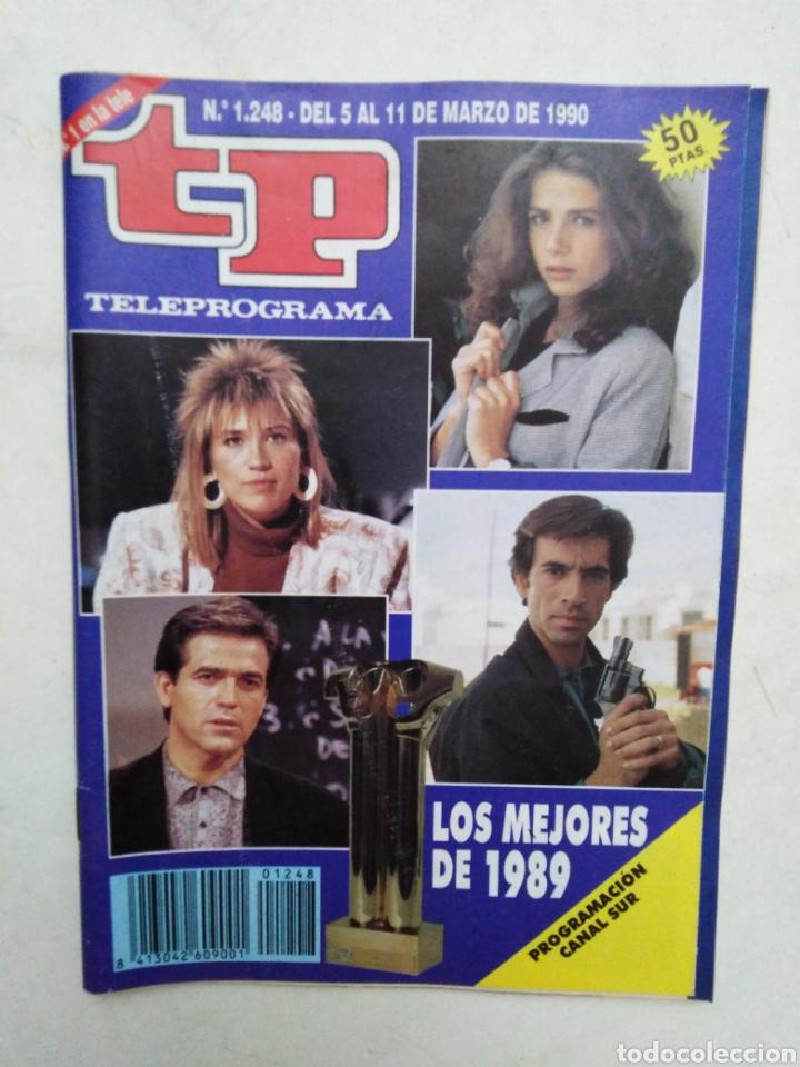 Coleccionismo de Revista Teleprograma: Lote de 10 revistas TELEPROGRAMA ( TP ) años 1988 ,1989 ,1990, 1991, 1992 y 1995 - Foto 8 - 284276113