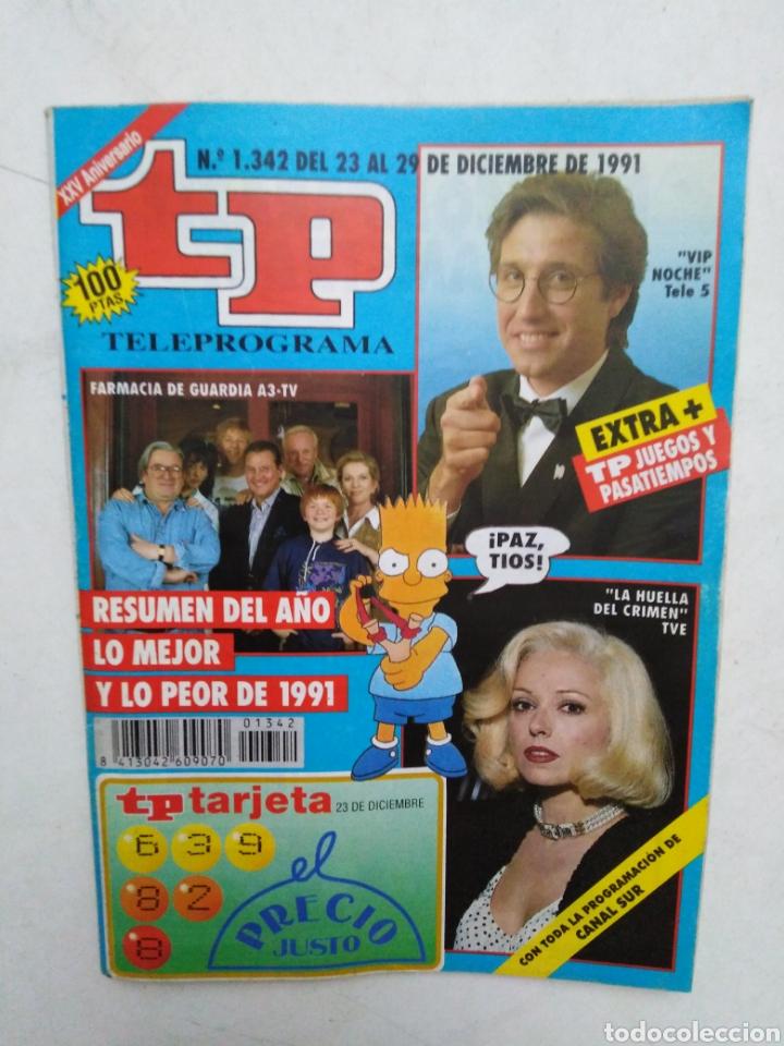 Coleccionismo de Revista Teleprograma: Lote de 10 revistas TELEPROGRAMA ( TP ) años 1988 ,1989 ,1990, 1991, 1992 y 1995 - Foto 9 - 284276113