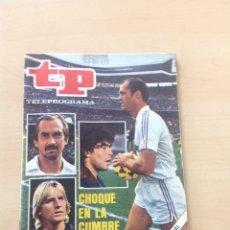 Coleccionismo de Revista Teleprograma: TP 868 AÑO 1982. Lote 284608018