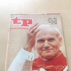 Coleccionismo de Revista Teleprograma: TP 865 AÑO 1982. Lote 284610288
