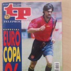 Coleccionismo de Revista Teleprograma: TP 1996 AÑO 1996 ESPECIAL EUROCOPA 1996. Lote 284742498