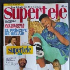 Coleccionismo de Revista Teleprograma: SUPERTELE Nº 78. 11- 17 DE SEPTIEMBRE, 1993. EL PRÍNCIPE DE BEL AIR. RECETAS DE KARLOS ARGUIÑANO.. Lote 286275118
