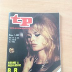 Collectionnisme de Magazine Teleprograma: TP NUM 1002 AÑO 1985. Lote 286699278