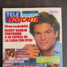 Coleccionismo de Revista Teleprograma: TELE INDISCRETA Nº 242. OCTUBRE 1989. FALCON CREST- HARRY HAMLIN - BEN MURPHY.... Lote 286782518