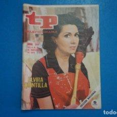 Collezionismo di Rivista Teleprograma: REVISTA TP TELEPROGRAMA DE ELVIRA QUINTILLA Nº 344 LOTE 25 D. Lote 287198363