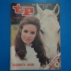 Collectionnisme de Magazine Teleprograma: REVISTA TP TELEPROGRAMA DE ELIZABETH BAUR Nº 324 LOTE 25 D. Lote 287199283