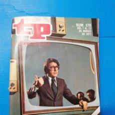 Coleccionismo de Revista Teleprograma: TP 570 1977. Lote 287795073