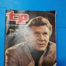 Coleccionismo de Revista Teleprograma: TP 566 1977. Lote 287795313