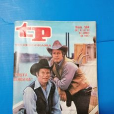 Coleccionismo de Revista Teleprograma: TP 584 1977. Lote 287797188
