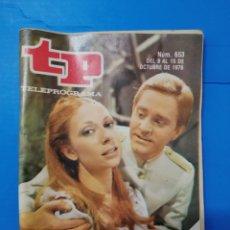 Coleccionismo de Revista Teleprograma: TP 653. Lote 287799568