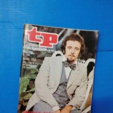 Coleccionismo de Revista Teleprograma: TP 552 1976. Lote 287800103
