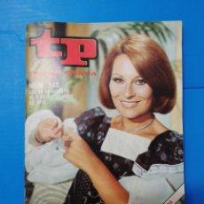 Coleccionismo de Revista Teleprograma: TP 543 1976. Lote 287800493