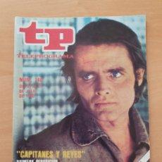 Coleccionismo de Revista Teleprograma: TP 746 AÑO 1980 CAPITANES Y REYES. Lote 287864688