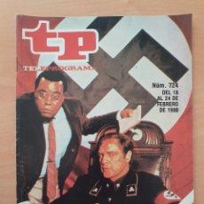 Coleccionismo de Revista Teleprograma: TP 724 AÑO 1980 RAÍCES CON MARLON BRANDO. Lote 287865453