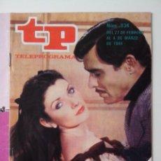 Coleccionismo de Revista Teleprograma: REVISTA TP TELEPROGRAMA AÑO 1984 Nº 934 MOVIOLA HOLLYWOOD POR DENTRO. Lote 288091448