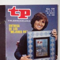 Coleccionismo de Revista Teleprograma: REVISTA TP TELEPROGRAMA AÑO 1984 Nº 936 ENTREGA DE LOS MEJORES 84. Lote 288091928