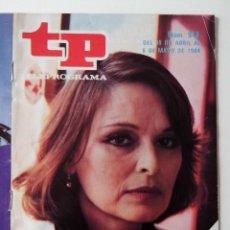 Coleccionismo de Revista Teleprograma: REVISTA TP TELEPROGRAMA AÑO 1984 Nº 943 VUELVE LA SEÑORA GARCIA SE CONFIESA. Lote 288092448