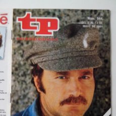 Coleccionismo de Revista Teleprograma: REVISTA TP TELEPROGRAMA AÑO 1984 Nº 944 EL PIRATA CON FRANCO NERO. Lote 288092588