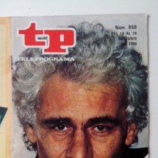 Coleccionismo de Revista Teleprograma: REVISTA TP TELEPROGRAMA AÑO 1984 Nº 950 LA CARTUJA DE PARMA. Lote 288093938