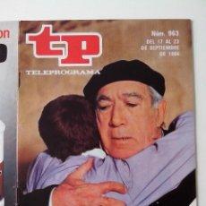 Coleccionismo de Revista Teleprograma: REVISTA TP TELEPROGRAMA AÑO 1984 Nº 963 CRONICA DEL ALBA. Lote 288095673