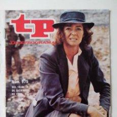 Coleccionismo de Revista Teleprograma: REVISTA TP TELEPROGRAMA AÑO 1984 Nº 975 EL CUARTO BRAZO. Lote 288097988