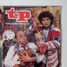 Coleccionismo de Revista Teleprograma: REVISTA TP TELEPROGRAMA AÑO 1984 Nº 977 FELICES PASCUAS. Lote 288098118