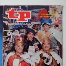 Coleccionismo de Revista Teleprograma: REVISTA TP TELEPROGRAMA AÑO 1985 Nº 978 EL SORTEO DE LOS JUGUETES. Lote 288098228