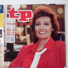 Coleccionismo de Revista Teleprograma: REVISTA TP TELEPROGRAMA AÑO 1985 Nº 984 Mª TERESA CAMPOS ALGO DE BOLI EN PORTADA. Lote 288098583