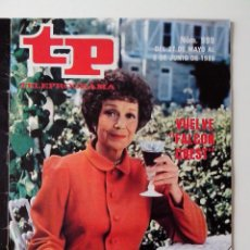 Coleccionismo de Revista Teleprograma: REVISTA TP TELEPROGRAMA AÑO 1985 Nº 999 VUELVE FALCON CREST. Lote 288099283