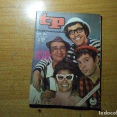 Colecionismo da Revista Teleprograma: TP TELEPROGRAMA Nº 263 LOS CHIRIPITIFLAUTICOS ABRIL 1971. Lote 291940473