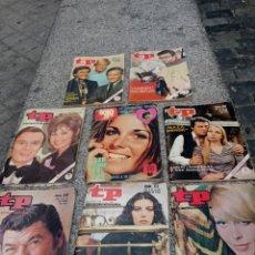 Coleccionismo de Revista Teleprograma: LOTE DE 8 ANTIGUOS TP.AÑOS 70. Lote 293862998