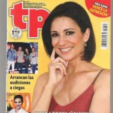 Colecionismo da Revista Teleprograma: TP. TELEPROGRAMA. Nº 2623. LAS MAÑANAS DE SILVIA JATO. 17 JULIO 2016.(P/D58). Lote 293934758