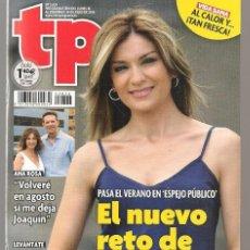 Coleccionismo de Revista Teleprograma: TP. TELEPROGRAMA. Nº 2624. SANDRA GOLPE EN ESPEJO PÚBLICO. 24 JULIO 2016.(P/D58). Lote 293934978