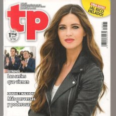 Coleccionismo de Revista Teleprograma: TP. TELEPROGRAMA. Nº 2626. SARA CARBONERO. 7 AGOSTO 2016.(P/D58). Lote 293935278