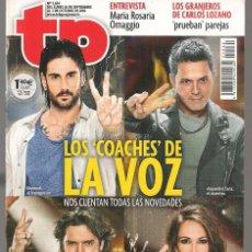 Coleccionismo de Revista Teleprograma: TP. TELEPROGRAMA. Nº 2634. MELENDI / ALEJANDRO SANZ / MANUEL CARRASCO / MALÚ. 2 OCTUBRE 2016.(P/C42). Lote 294021963