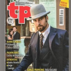 Coleccionismo de Revista Teleprograma: TP. TELEPROGRAMA. Nº 2641. CARLES FRANCINO. 20 NVBRE. 2016.(P/C42). Lote 294022263