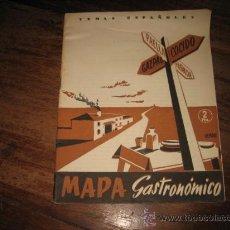 Coleccionismo de Revista Temas Españoles: TEMAS ESPAÑOLES Nº33 MAPA GASTRONOMICO . Lote 8090435