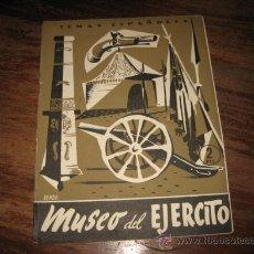Coleccionismo de Revista Temas Españoles: TEMAS ESPAÑOLES Nº97 EL MUSEO DEL EJERCITO. Lote 8090495