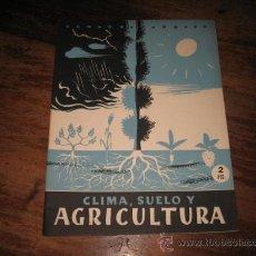 Coleccionismo de Revista Temas Españoles: TEMAS ESPAÑOLES Nº16 CLIMA,SUELO Y AGRICULTURA. Lote 8090580