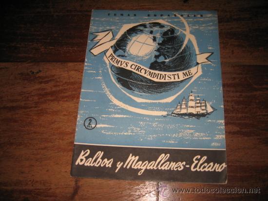 TEMAS ESPAÑOLES Nº267 BALBOA Y MAGALLANES-ELCANO (Papel - Revistas y Periódicos Modernos (a partir de 1.940) - Revista Temas Españoles)