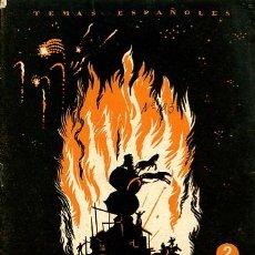 Coleccionismo de Revista Temas Españoles: VALENCIA. 1954. DESTACA LOS ASPECTOS SOCIAL Y CULTURAL DE VALENCIA. Lote 25333803