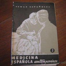 Coleccionismo de Revista Temas Españoles: TEMAS ESPAÑOLES Nº130 MEDICINA ESPAÑOLA COMUNITARIA. Lote 12875358