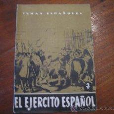 Coleccionismo de Revista Temas Españoles: TEMAS ESPAÑOLES Nº96 EL EJERCITO ESPAÑOL. Lote 12875619