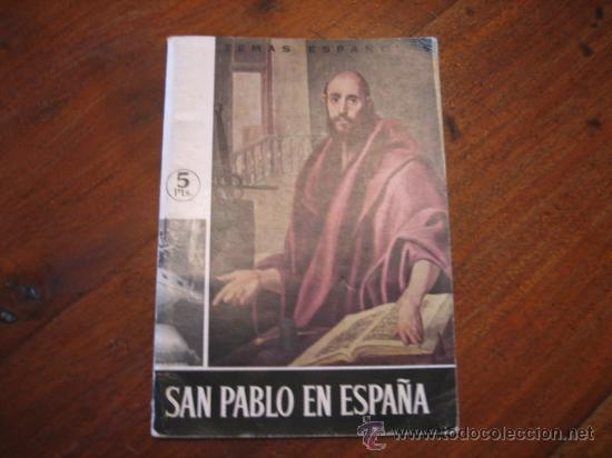 TEMAS ESPAÑOLES Nº435 SAN PABLO EN ESPAÑA (Papel - Revistas y Periódicos Modernos (a partir de 1.940) - Revista Temas Españoles)