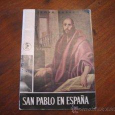 Coleccionismo de Revista Temas Españoles: TEMAS ESPAÑOLES Nº435 SAN PABLO EN ESPAÑA. Lote 12875648