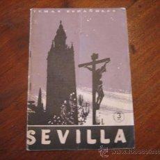 Coleccionismo de Revista Temas Españoles: TEMAS ESPAÑOLES Nº258 SEVILLA . Lote 12875674